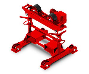 RDA AHPS4-40 Pipe Roller   Turning Rolls   Red-D-Arc