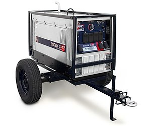 D302K 3+12 Portable Diesel Welder With Trailer for Rent
