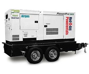 MMD PowerPro 150kVA Natural Gas Rental r