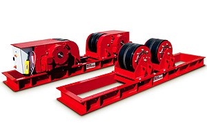 RDA CR60 NA 60 Ton Capacity Drive and Idler Rolls
