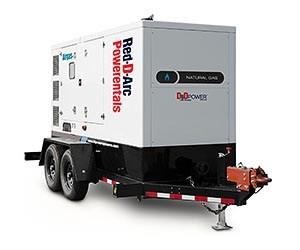 HIPOWER HRNG 230 T6 Natural Gas Generator Rental Unit