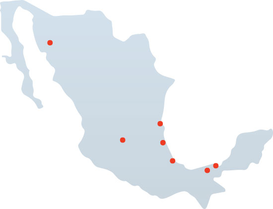Red-D-Arc Mexico Locations