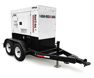 Red-D-Arc RDA60T3S Diesel Generator Rental