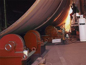 TDSA-200 Ton Turning Roll