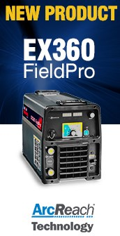 EX360 FieldPro Multiprocess Welder Rental Unit