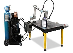 robotic welding cell components