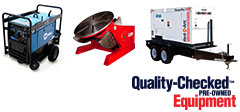 Used Welders and Generators<br/>										Ontario