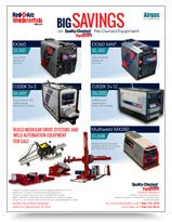 Used Welders (TIG, MIG, Inverter) Positioners, Generators